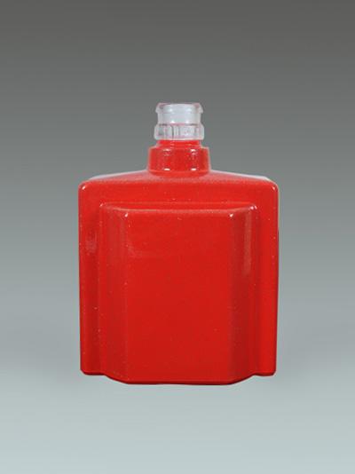 定制喷釉光瓶