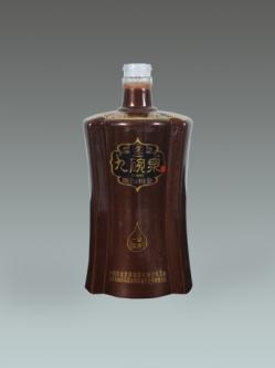 广东定制喷釉烤花瓶