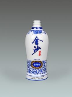 乳白烤花瓶