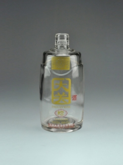 高白烤花瓶