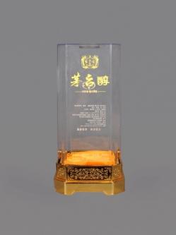 蒙自定制透明酒盒