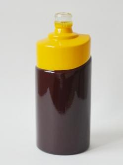 异形喷釉烤花瓶