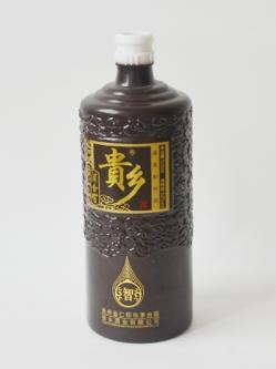 喷釉烤花定制酒瓶