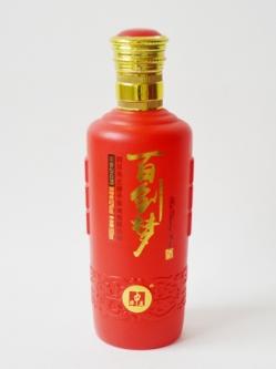 喷釉烤花定制瓶